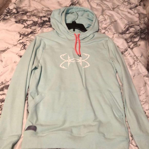 Under Armour Tops - UA fish cowl neck hoody